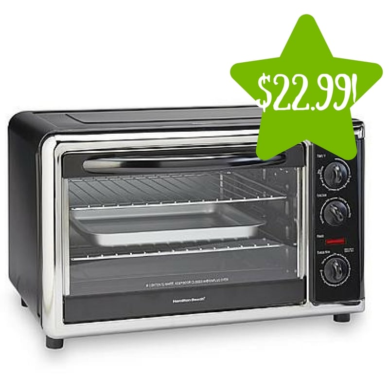 Kmart: Hamilton Beach Countertop Oven, Convection & Rotisserie Only $22.99 After Points (Reg. $100)