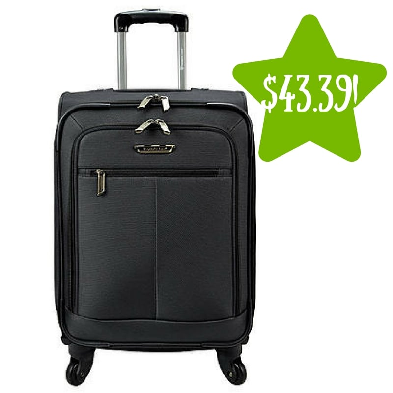 Sears: Traveler's Choice Carry-On Upright Spinner Only $43.39 After Points (Reg. $120)