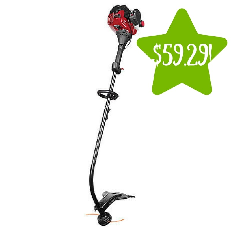 Sears: Craftsman 25cc 2-Cycle Gas Trimmer Only $59.29 After Points (Reg. $95)