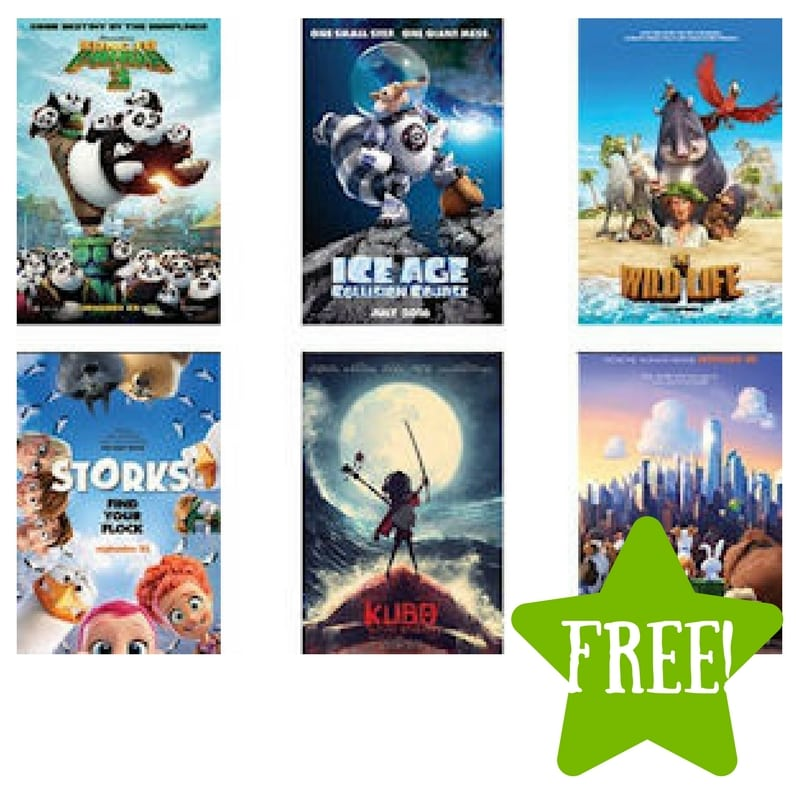FREE Movie Passes during Kids Dream Family Film Series