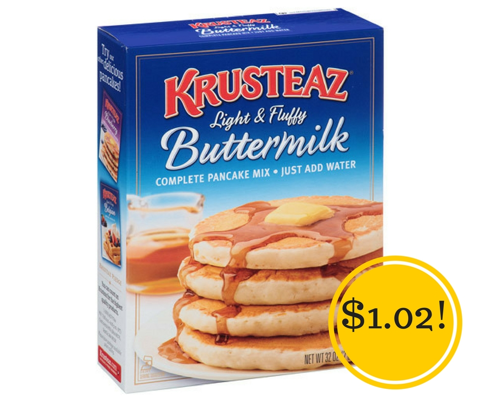 Target: Krusteaz Pancake Mix Only $1.02