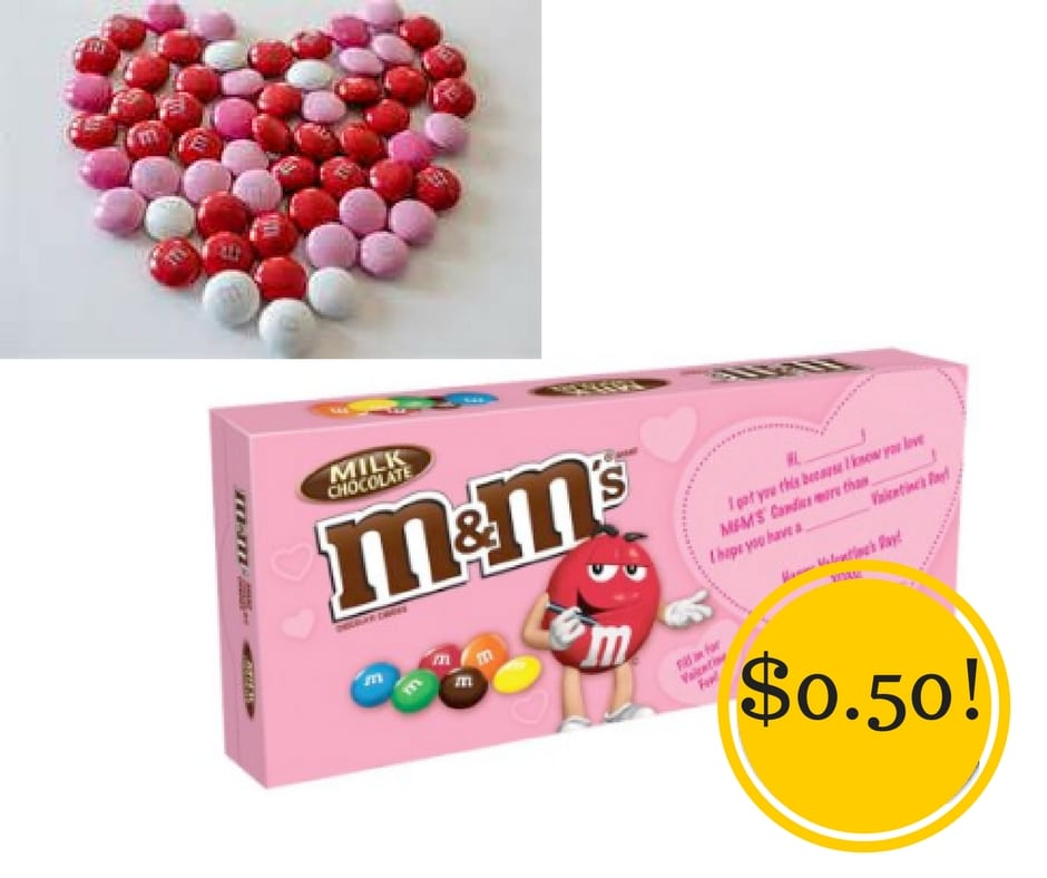 Target: M&M's Valentine's Theater Boxes Only $0.50
