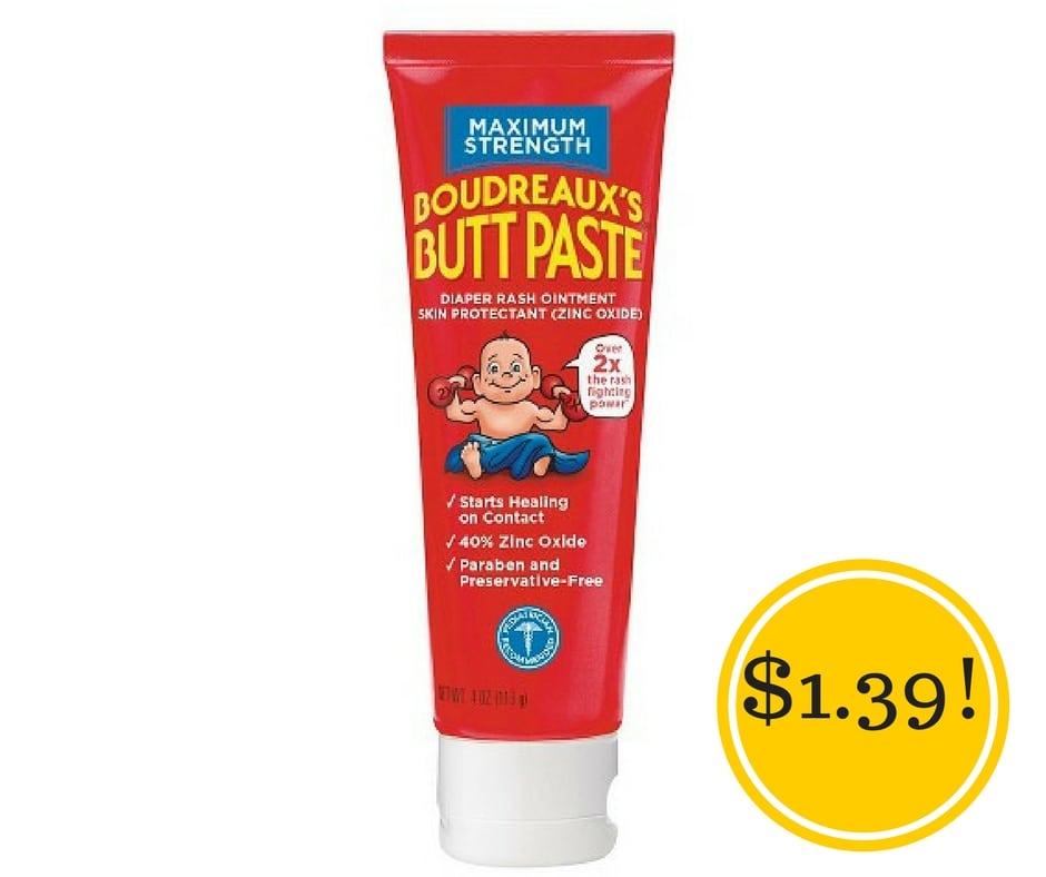 Target: Boudreaux's Diaper Rash Only $1.39