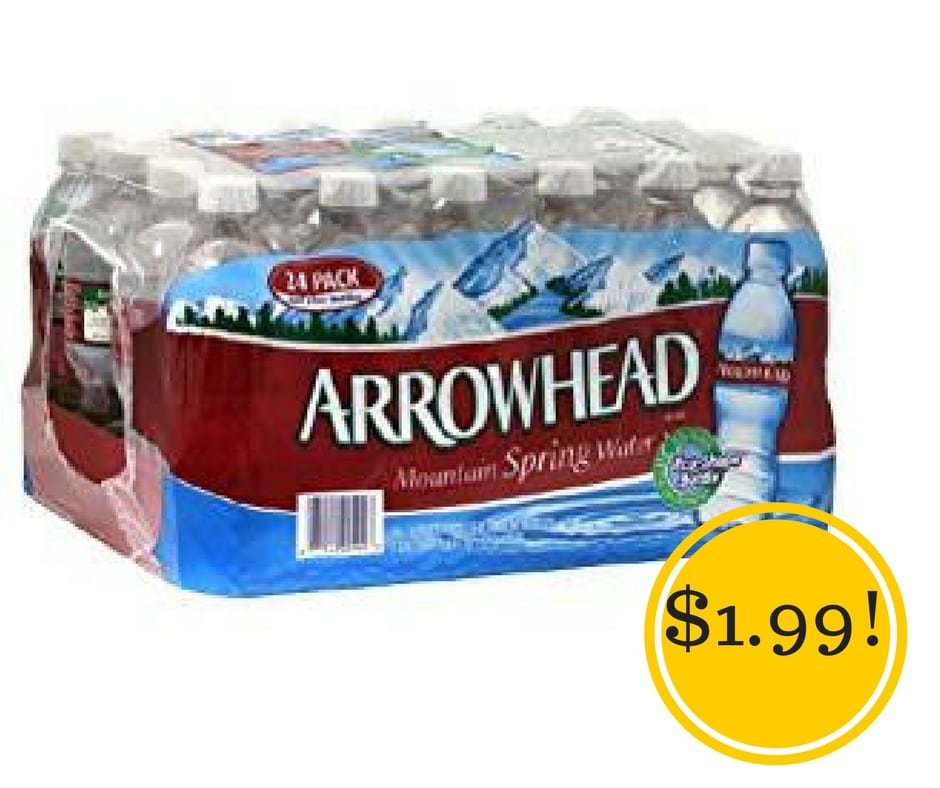 Target: Arrowhead Spring Water Only $1.99
