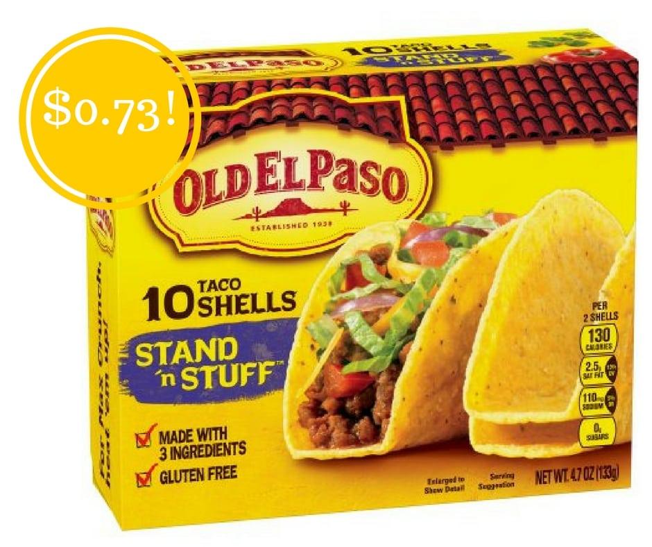 Walmart: Old El Paso Bold Stand 'n Stuff Taco Shells Just $0.73