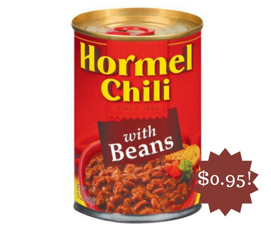 Wegmans: Hormel Chili Only $0.95