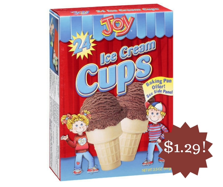 Wegmans: Joy Sugar Cones Only $1.29