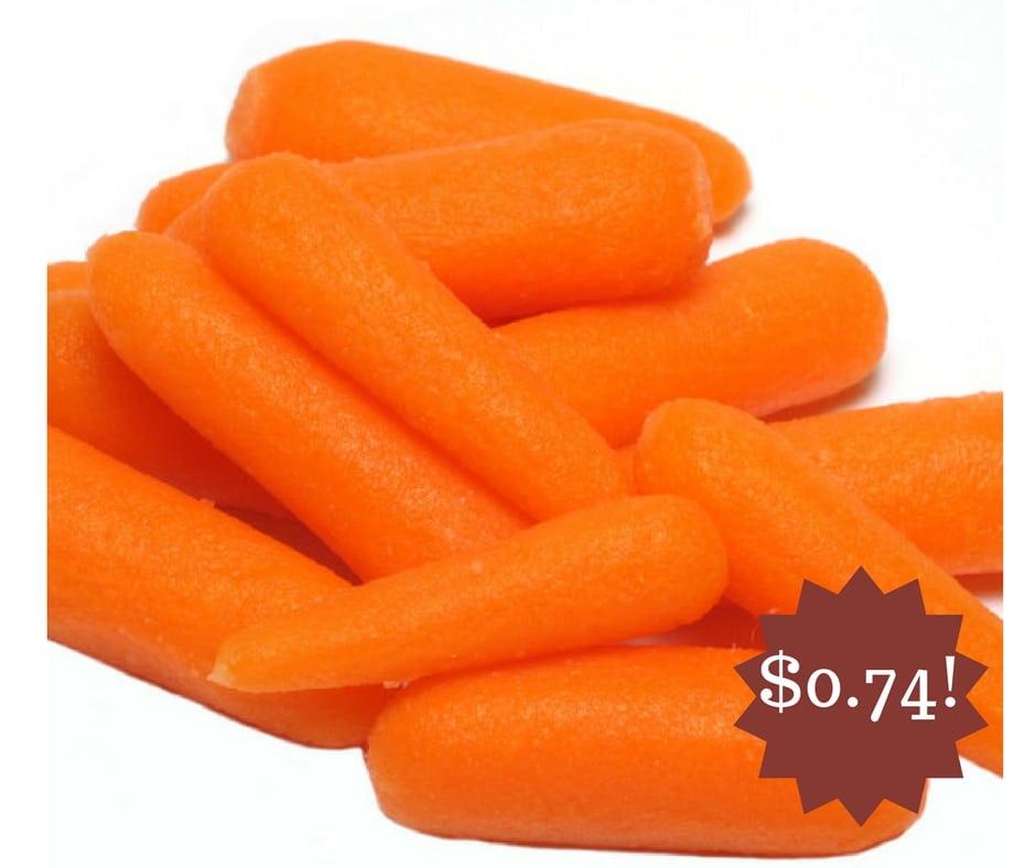 Wegmans: Baby Carrots Only $0.74