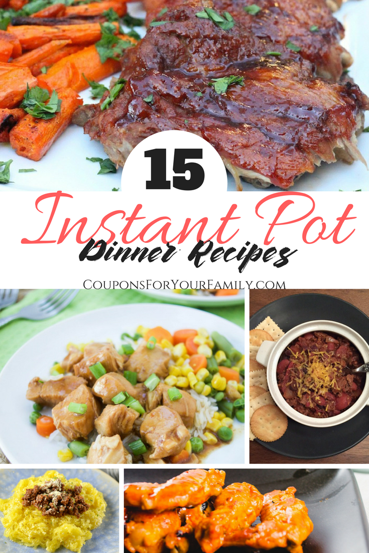 15 Easy Instant Pot Recipes for Dinner