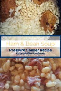 Pressure Cooker Ham & Bean Soup