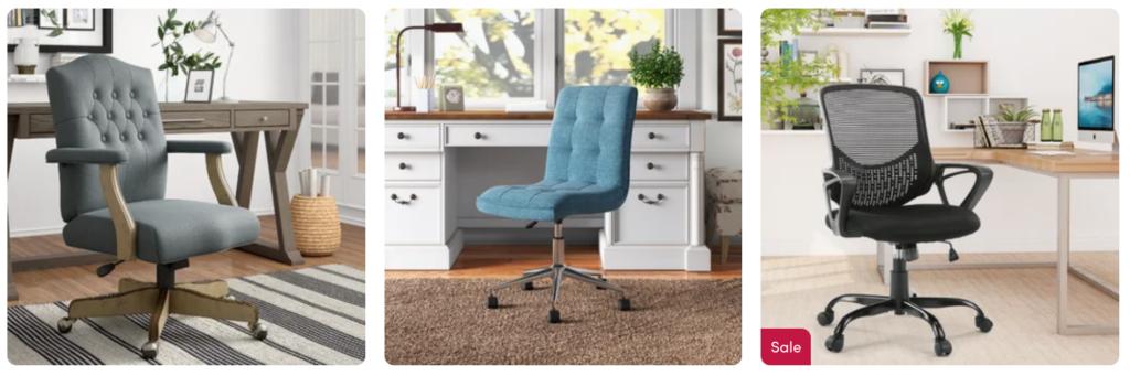 Wayfair home office chairs