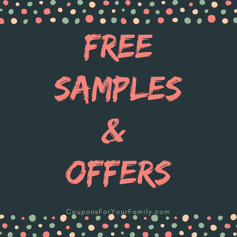 Free Samples and Offers from your Favorite Brands: Unilever, Tresemme, Dove, P&G and more!!