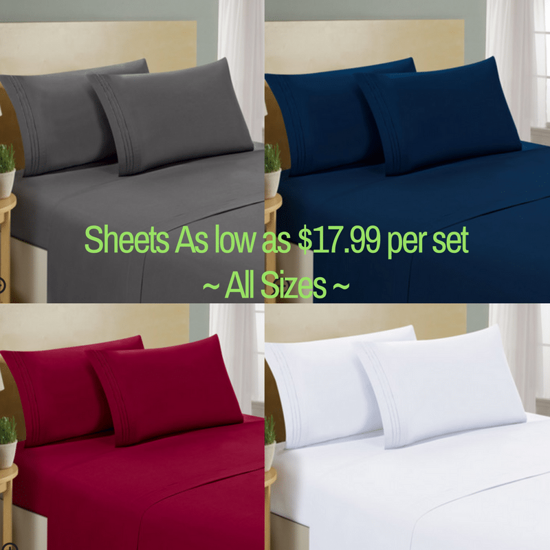 **HOT** 10% Wayfair Coupon Code & get Luxe Sheet Sets as low as $17.99–including King size!!!