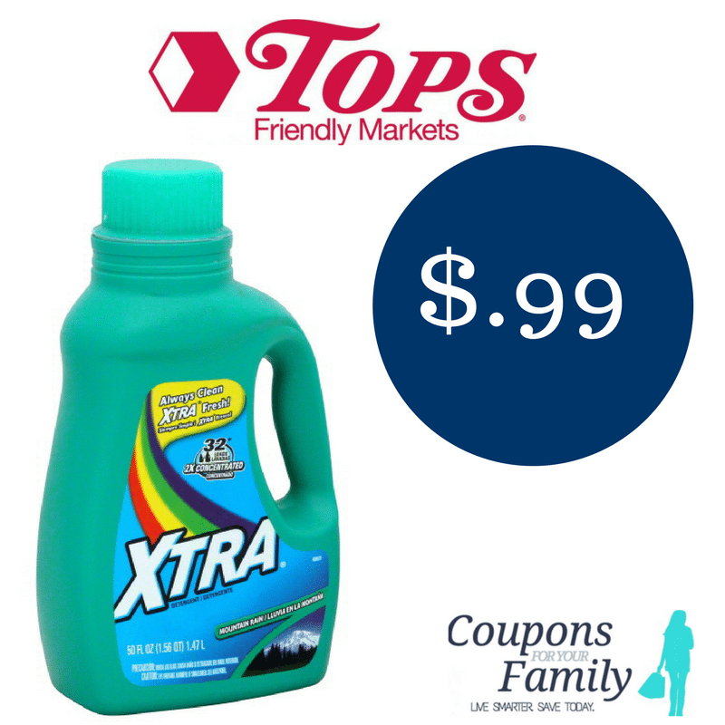 Tops Markets Coupon Deal Xtra Laundry