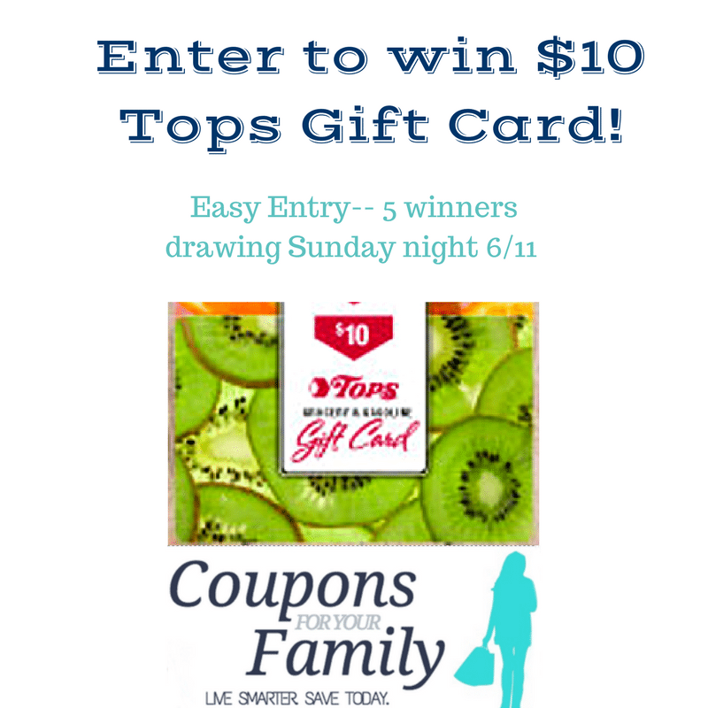 Tops Gift Card