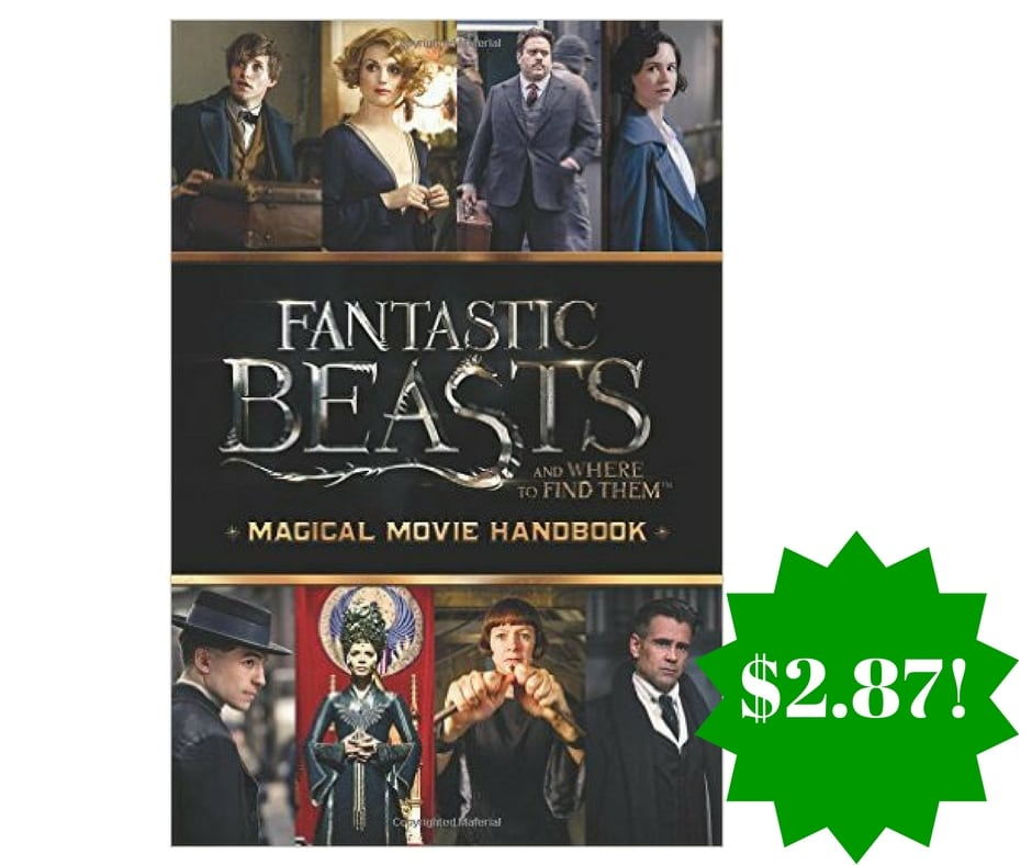 Amazon: Magical Movie Handbook (Fantastic Beasts and Where to Find Them) Paperback Only $2.87 (Reg. $8)