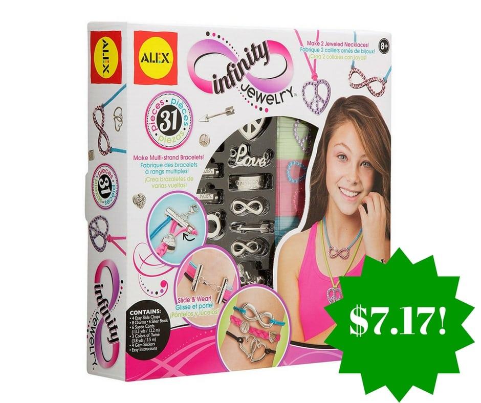 Amazon: ALEX Toys DIY Wear Infinity Jewelry Only $7.17 (Reg. $23)