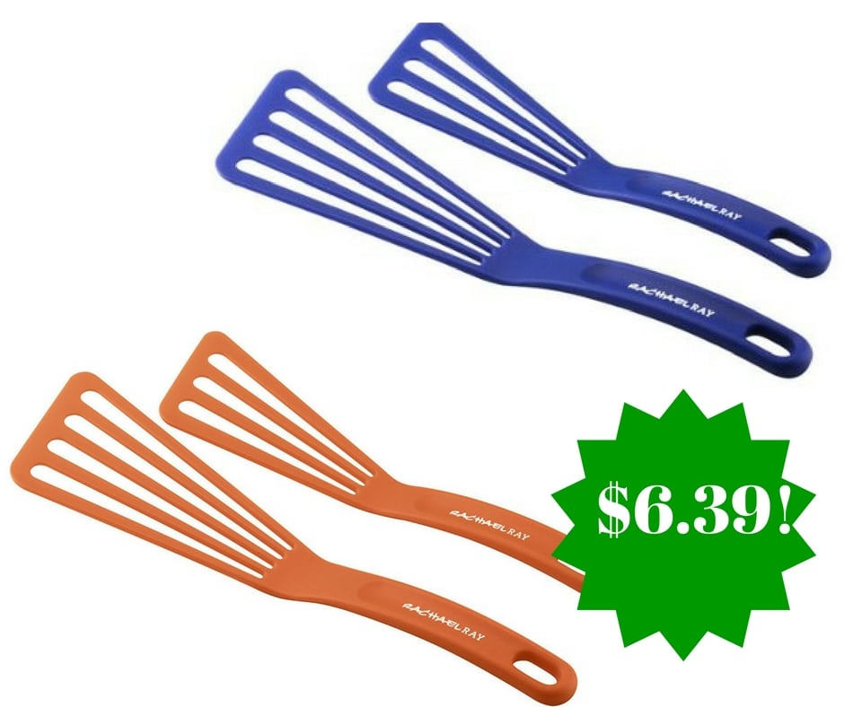 Amazon: Rachael Ray Tools 2-Piece Nylon Turner Set Only $6.39