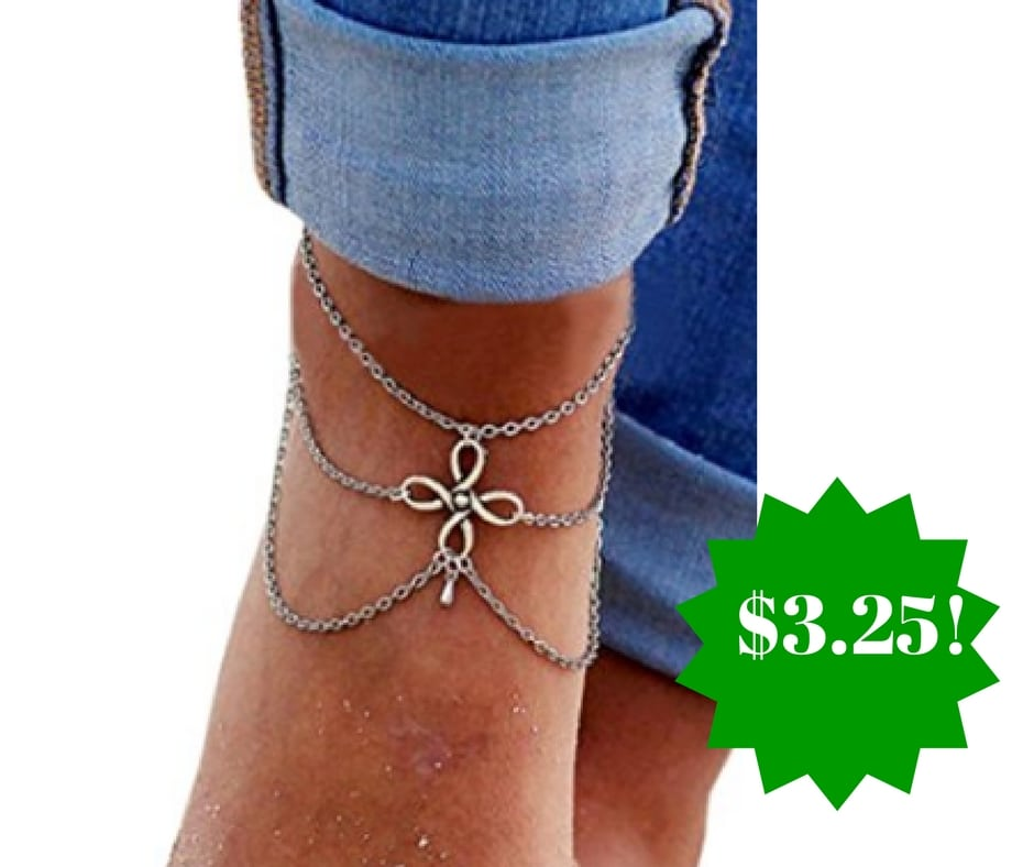 Amazon: Susenstone Tassel Jewelry Anklet Only $3.25 Shipped