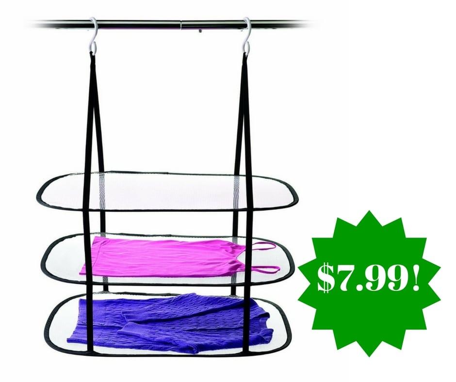 Amazon: Homz Hanging Sweater Dryer Only $7.99 (Reg. $29)