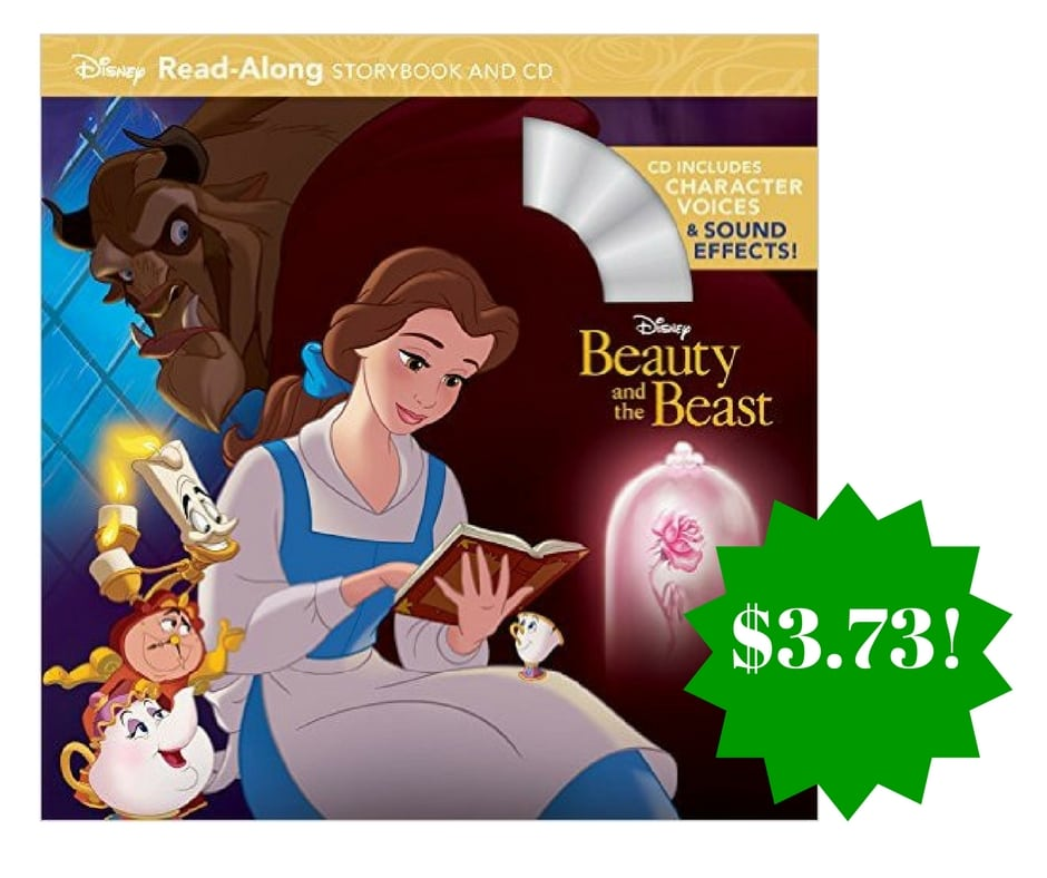 Amazon: Beauty and the Beast Read-Along Storybook and CD Only $3.73 (Reg. $7)