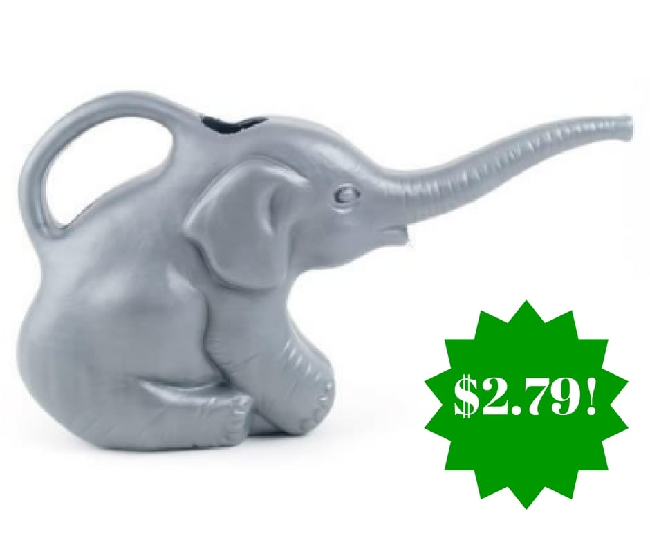 Amazon: Elephant Watering Can Only $2.79 (Reg. $5)