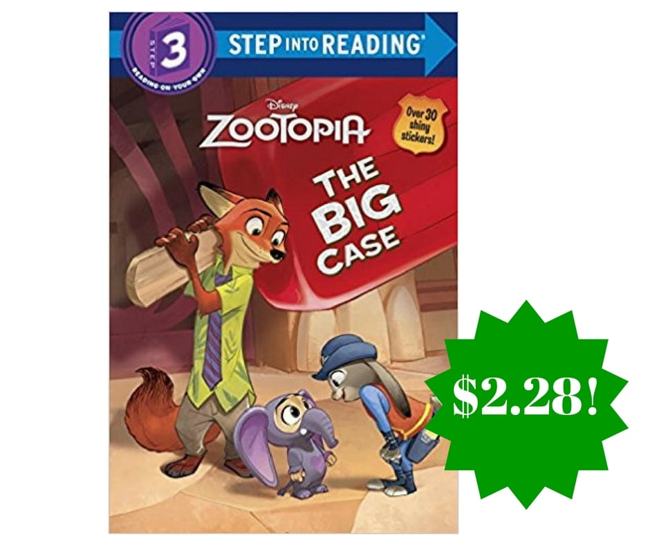 Amazon: Disney Zootopia The Big Case (Step into Reading) Only $2.28 (Reg. $5)