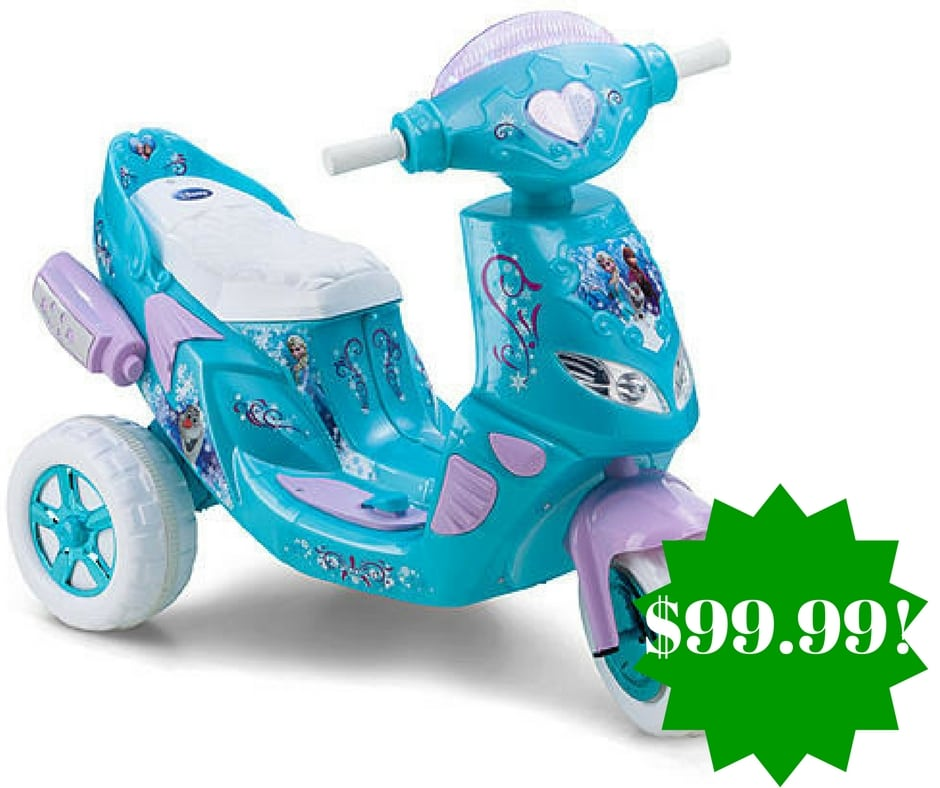 Kmart: Disney Frozen 6V Battery Toy Ride-On Only $99.99 (Reg. $160, Today Only)