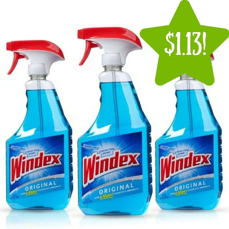 Kmart: Windex Original Glass Cleaner Only $1.13 After Points