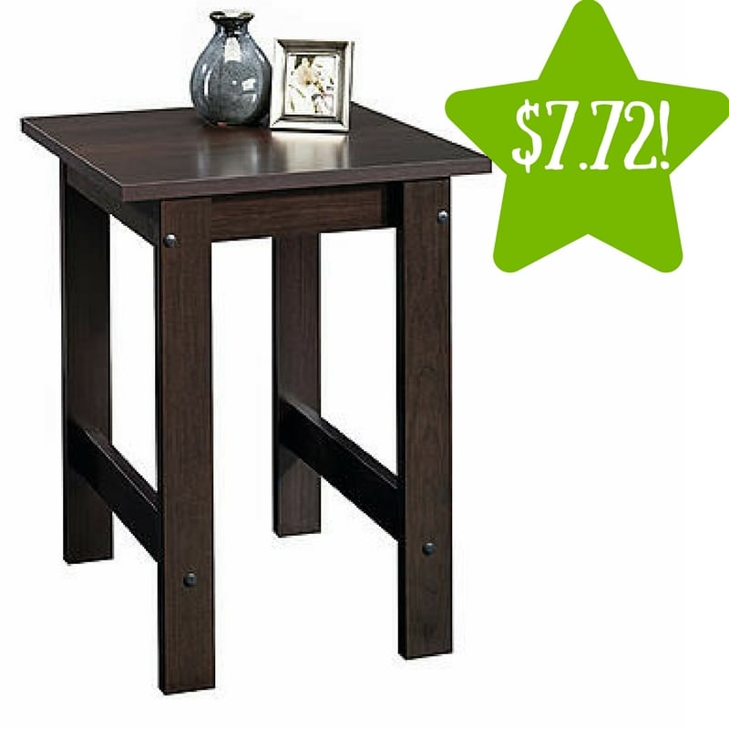 Kmart: Sauder Beginnings Side Table (Cinnamon Cherry) Only $7.72 After Points (Reg. $20)