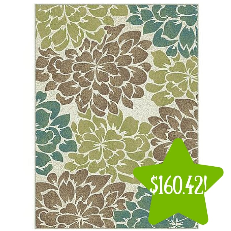 Sears: Tayse Rugs Deco Molly Floral Area Rug Only $160.42 After Points (Reg. $422)