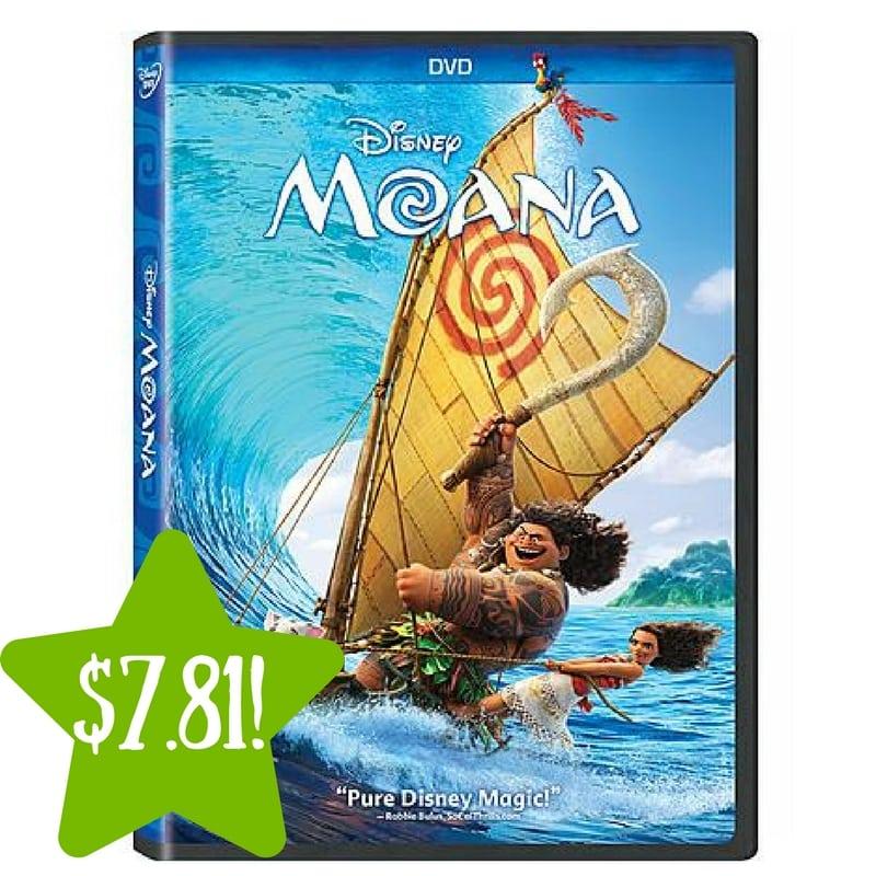 Kmart: Moana (DVD) Only $7.81 After Points (Reg. $21)