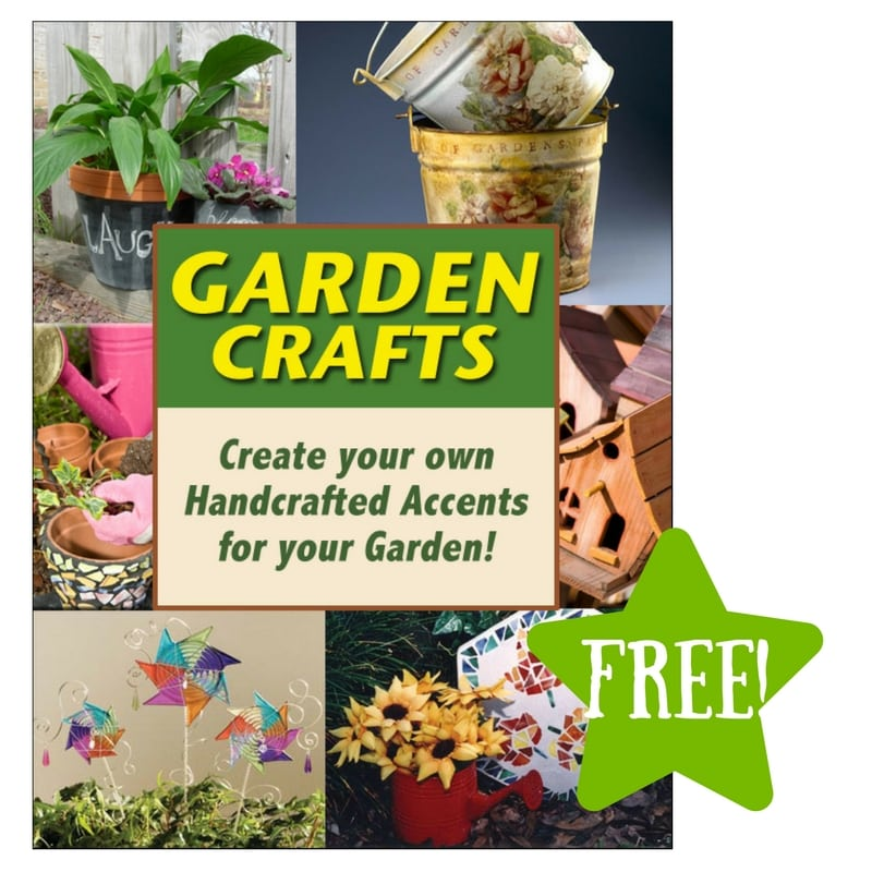 FREE Garden Crafts eBook from FaveCrafts