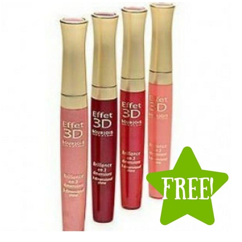 FREE Bourjois 3D Effect Lip Gloss