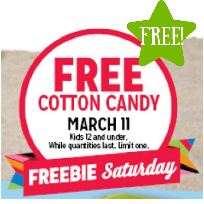 FREE Cotton Candy (3/11 Only)