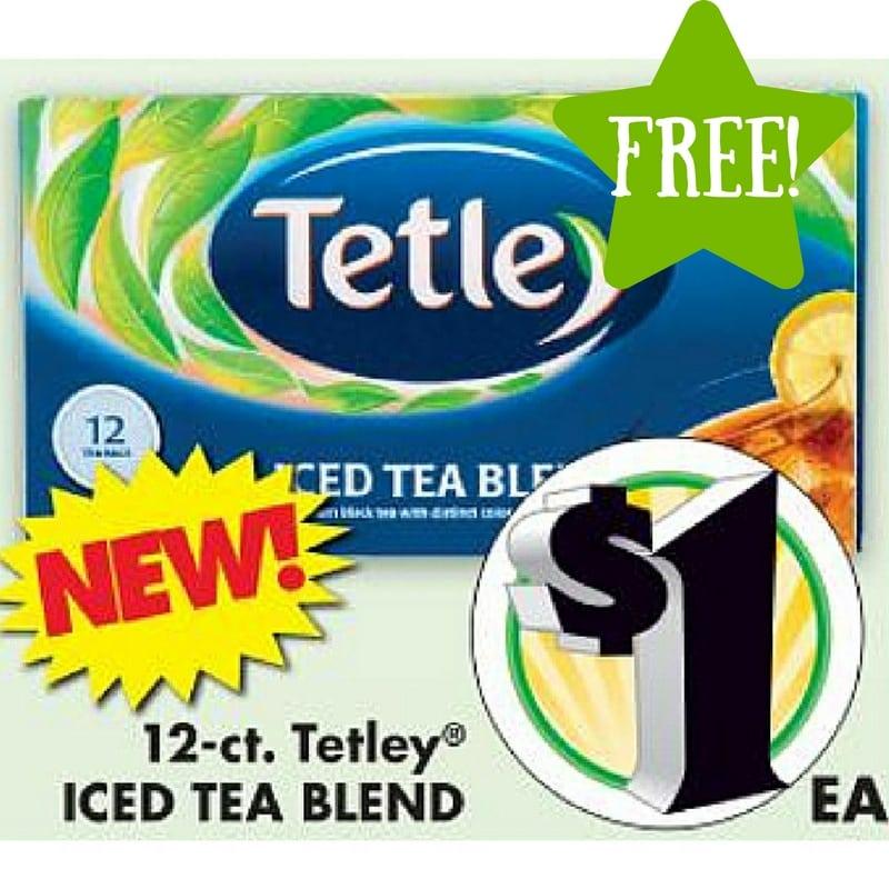 Dollar Tree: FREE Tetley Tea