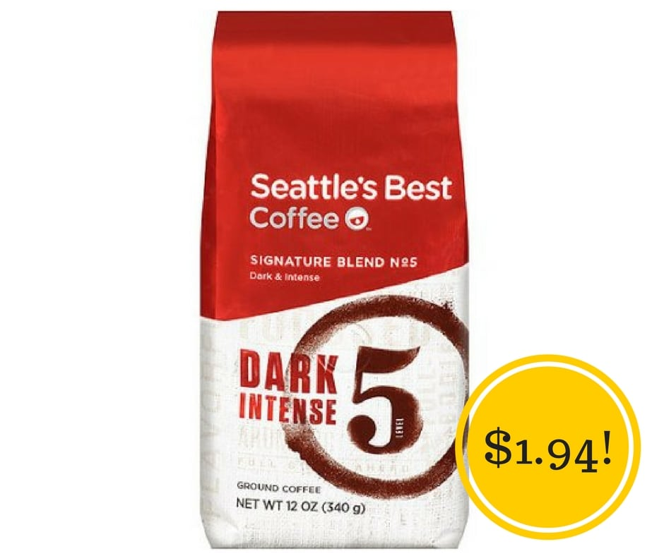 Target: Seattle's Best Coffee Only $1.94