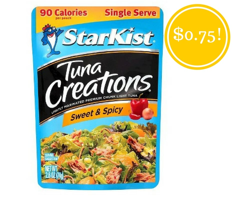 Walmart: Starkist Tuna Creations Just $0.75