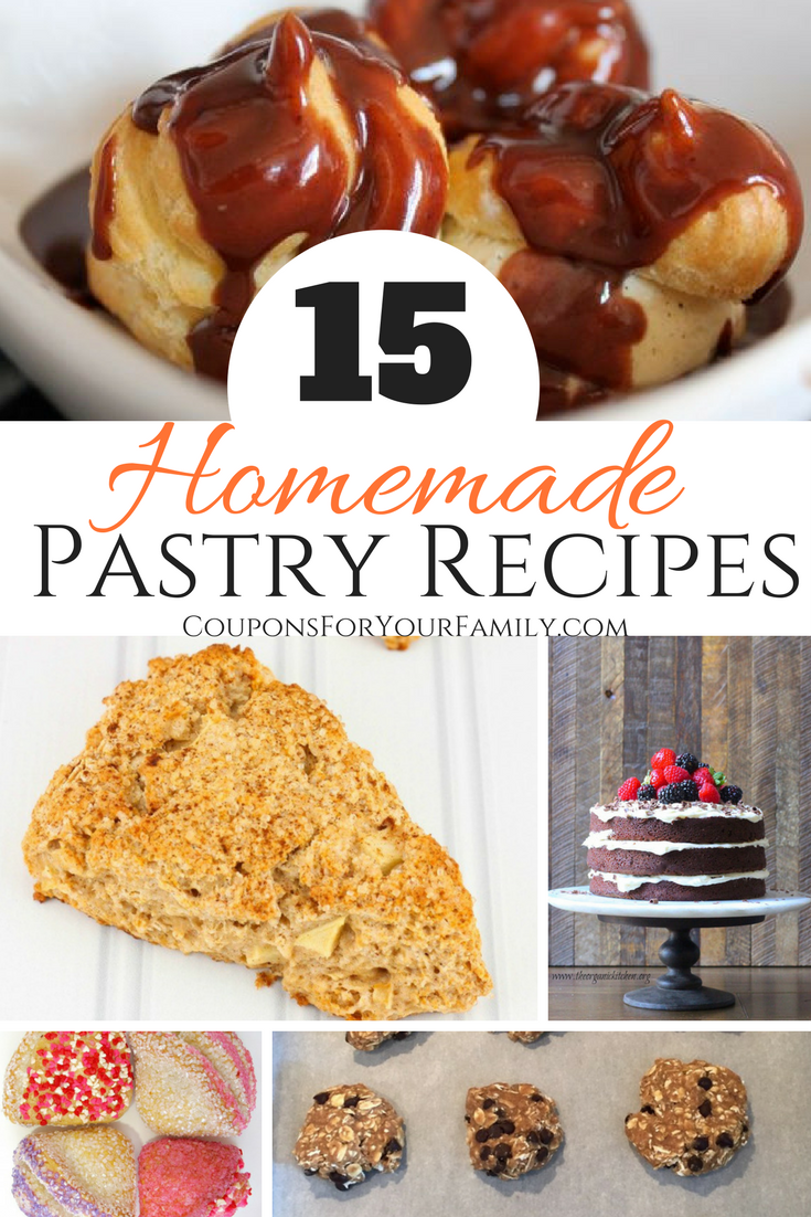 15 Amazing Homemade Pastry Recipes To Try Right Now!