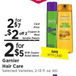 Free Garnier Fructis Hair Stylers