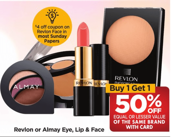 RiteAid Coupon Deal Revlon