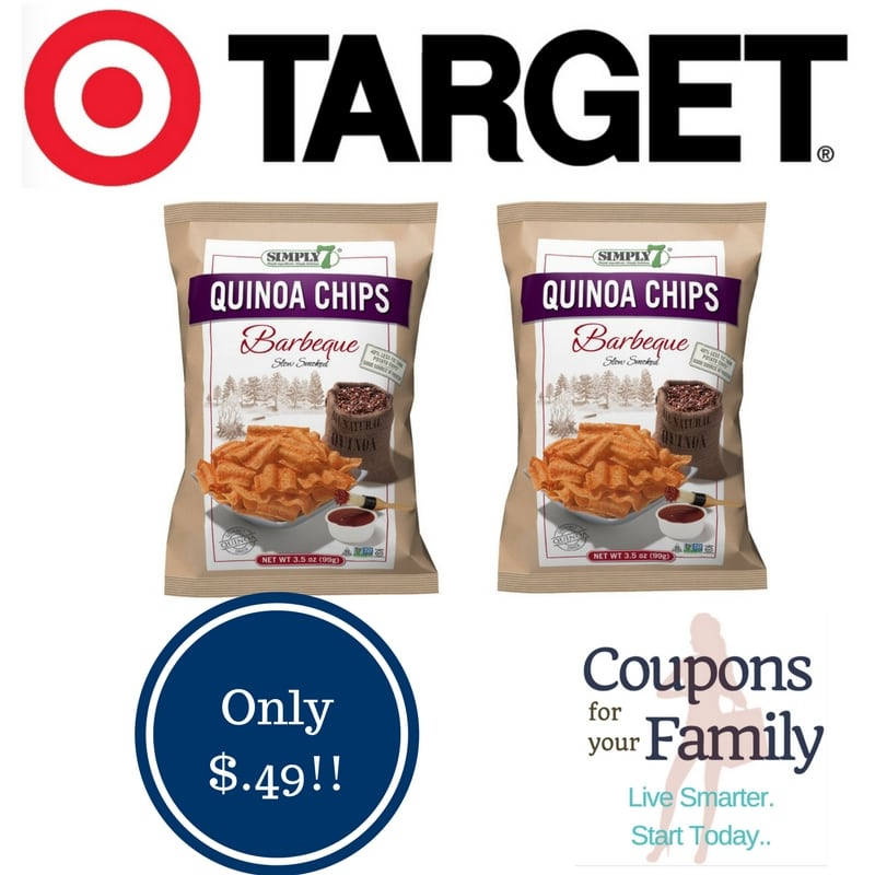 Target: Simply 7 Quinoa Chips Only $0.49