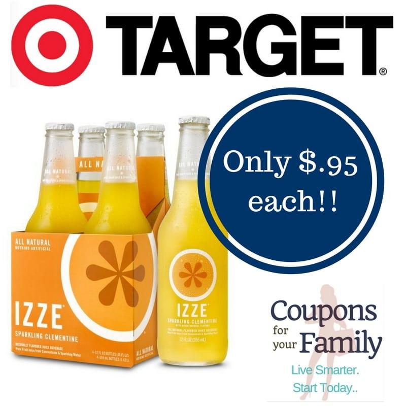 Target: Izze Sparkling Juice Only $0.95