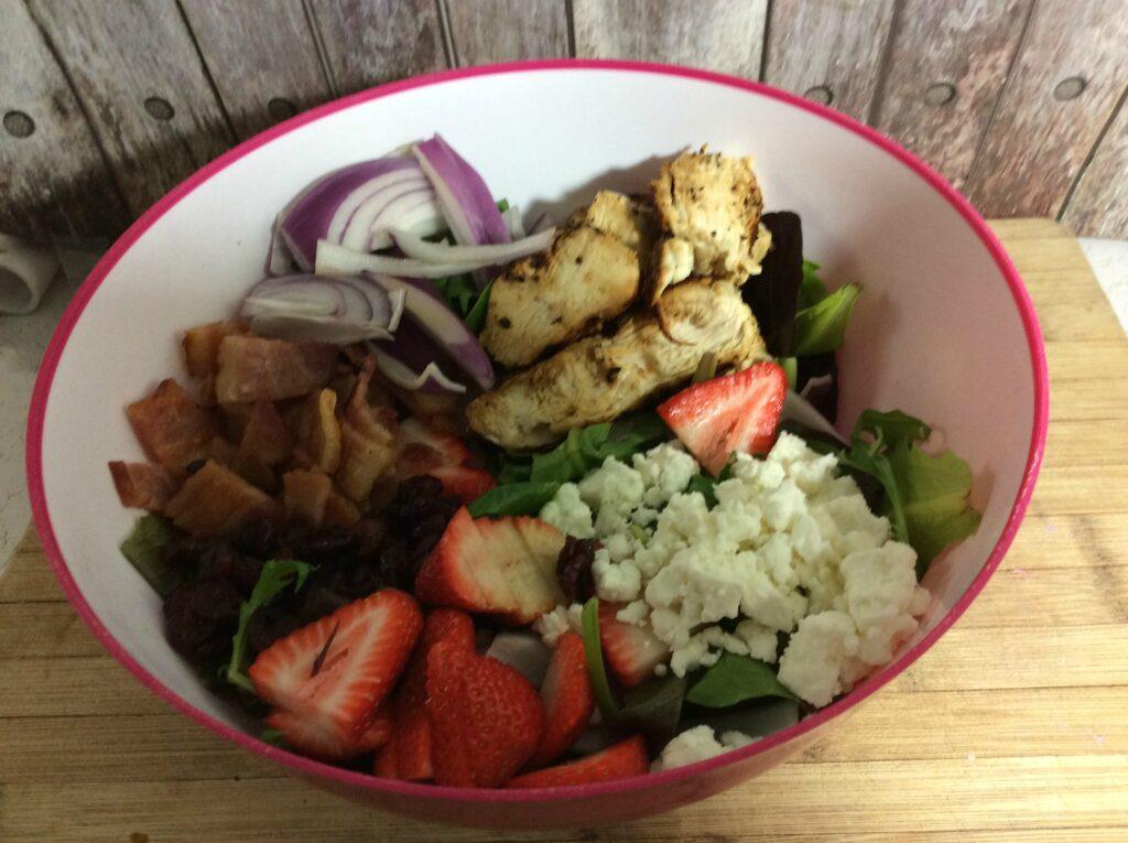 easy healthy chicken salad with bacon recipe