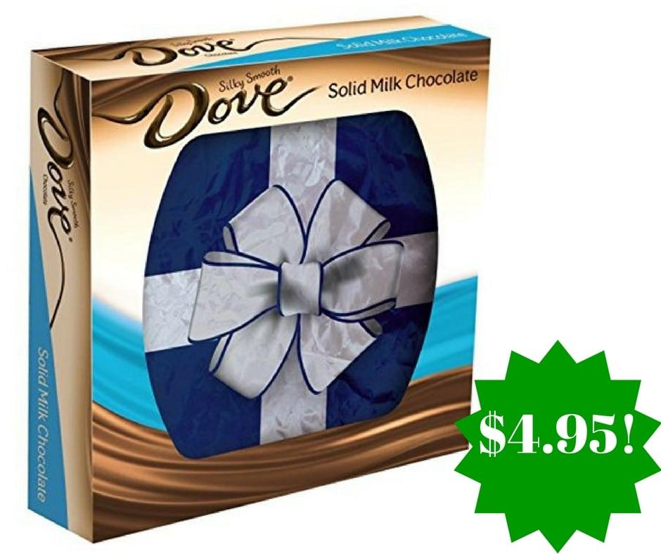 Amazon: DOVE PROMISES Milk Chocolate Gift Box Only $4.95