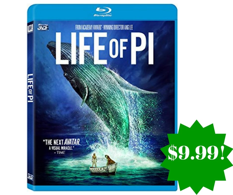 Amazon life of pi blu ray 3d only reg 25 for Life of pi family