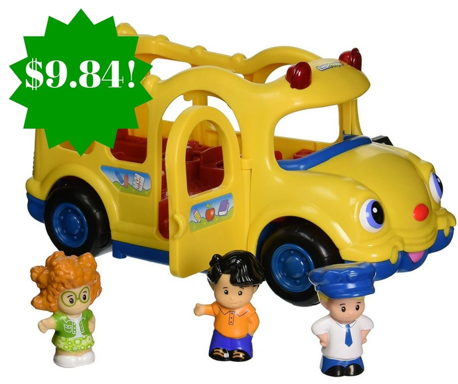 Amazon: Little People Lil' Movers Baby School Bus Only $9.84 (Reg. $20)