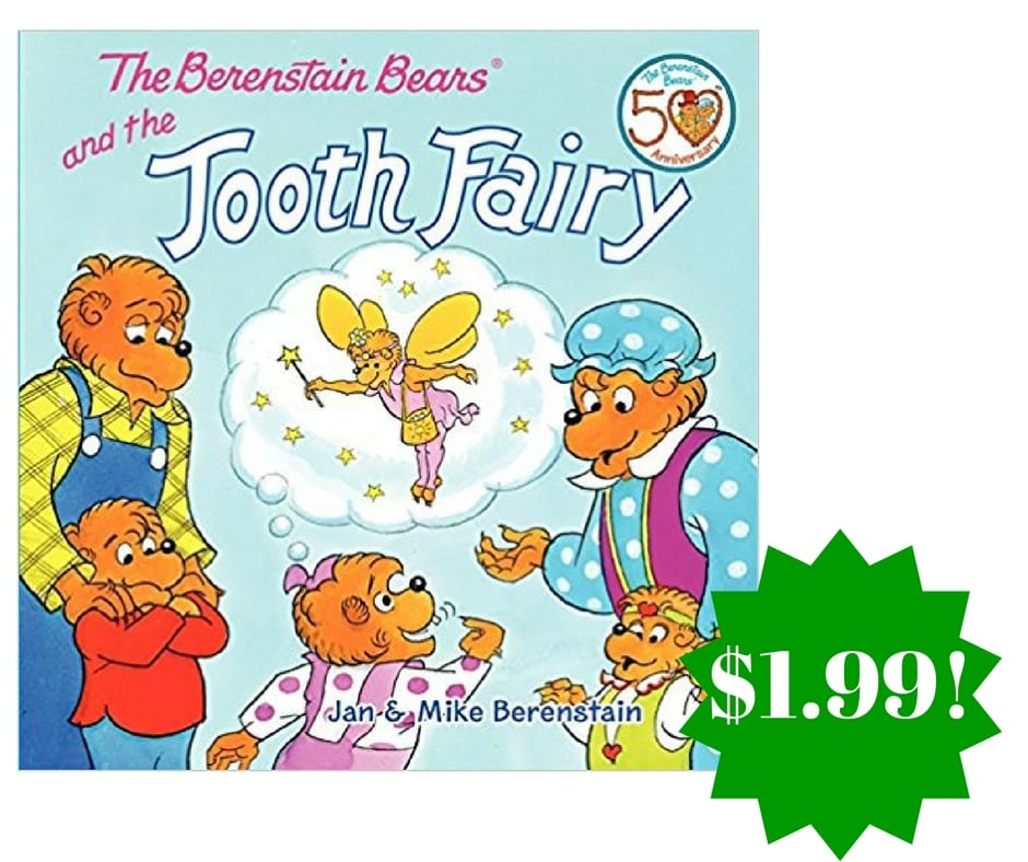 Amazon: The Berenstain Bears and the Tooth Fairy Paperback Only $1.99 (Reg. $4)