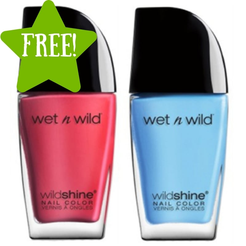 Kmart: FREE Wet n Wild Wild Shine Nail Color (4/21-4/23) LOAD TODAY