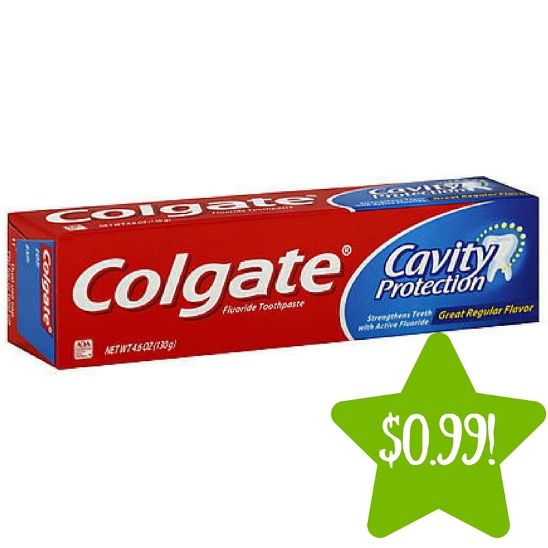 Kmart: Colgate Toothpaste Only $0.99